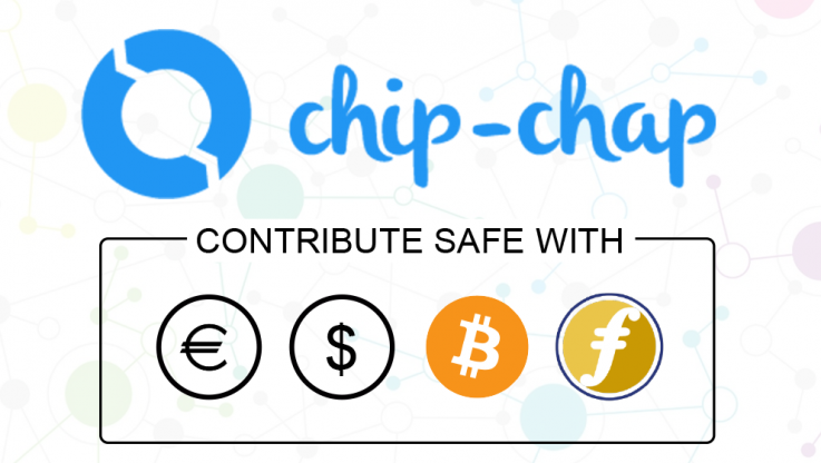 <p>Benicarló, Spain  Today, we are announce the collaboration with ChipChap payment platform. Chip-Chap will be acting an as escrow agent during the whole token sale period, for all payments in Bitcoin, Faircoin, Ethereum and FIAT currencies (EUR &amp; USD).  With the support of ChipChap, we offer a great convenience for the token sale participants, since they can buy Pylon-tokens with Bitcoin, Faicoin and FIAT currencies while offering increased safety and decreased risk in our ICO, [&hellip;]</p>