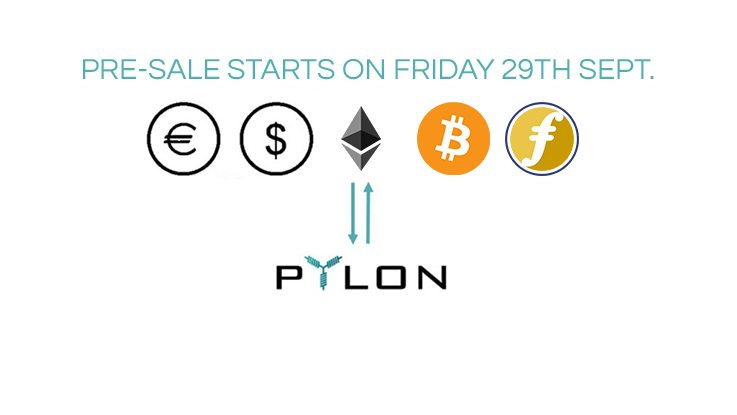 <p>We know you have been anticipating it and now we are finally in a position to announce a time for the launch of Pylon Token pre-sale: PRE-SALE STARTS ON 29 SEP '17, AT NOON – 12.00 O'CLOCK (CET) Everything is in place and we have increased the security of the smart contracts and the whole […]</p>