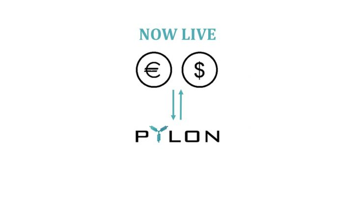 "<p>Payments through FIAT currencies (Euro & US Dollar) have just gone live in our website! You can access the FIAT payment process by going to our homepage, www.pylon-network.org and clicking on ""PARTICIPATE IN PRE-SALE"". All information regarding the process can be found there. If you are planning to purchase your Pylon Tokens through EUR or USD, you […]</p>"