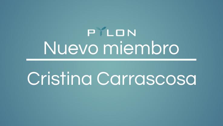 <p>Benicarló, Valencia, Spain  ¡Estamos encantados de anunciar la incorporación de un miembro más, nuevo en nuestro equipo! Cristina Carrascosa, abogada con amplia experiencia en proyectos innovadores con BlockChain, se une al equipo de Pylon Network. Ex directora legal de Fluon Ecosystem, una plataforma descentralizada de gestión de activos basada en BlockChain , es abogada [&hellip;]</p>