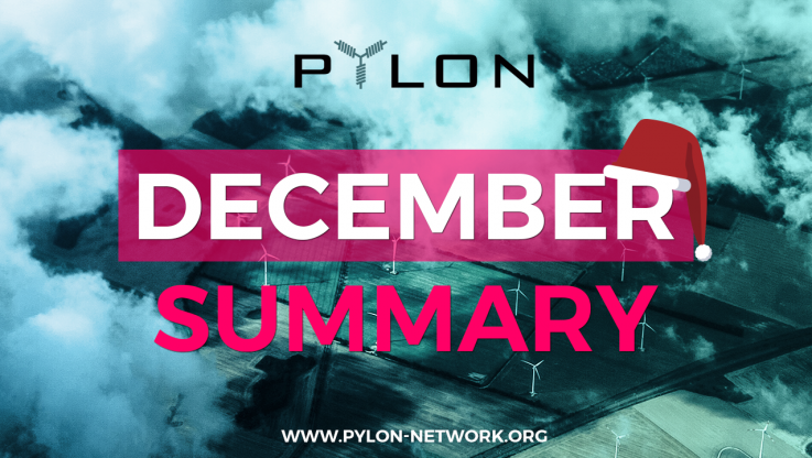 <p>December was a very busy month for Pylon Network team and it was definitely a good one. What did we achieve during the last 30 days of 2017 ? December is over &#8211; but also 2017 is over. Looking back to the last month and reflecting on our achievements until now, we think it was [&hellip;]</p>