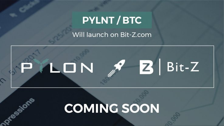 <p>After a few weeks of negotiations and evaluations regarding the exchanges, we are pleased to inform you that Pylon Token (PYLNT) will be listed in Bit-Z exchange. Web: www.bit-z.com At the moment, we do not have an exact date/time, but we have been informed that the launch will take place within the next 3 weeks, […]</p>