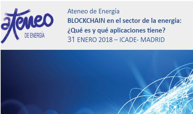 <p>–   Pylon Network will participate in a 1-day event about energy & blockchain – organized by the historically progressive idea forum, Ateneo de Madrid. –   Pylon Network will present together with GoiEner the demonstration application of the platform. –   They will join a discussion with other innovators and experts who are focusing on the same […]</p>