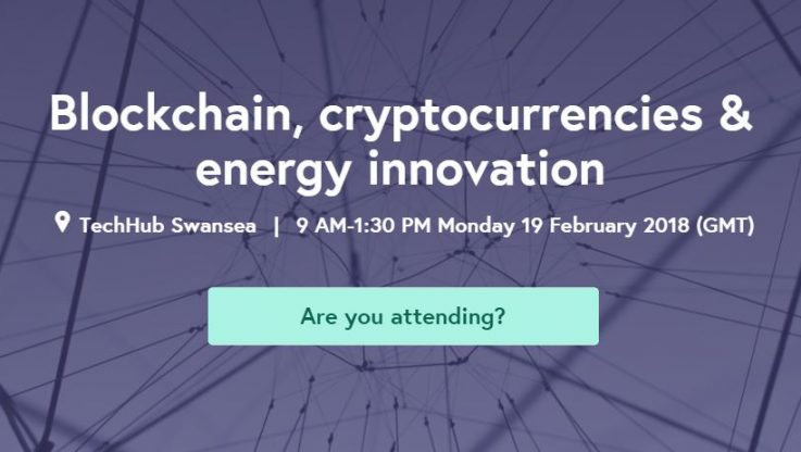 "<p>– Pylon Network MeetUp in Wales is now confirmed; ""Blockchain, cryptocurrencies & energy innovation"" will take place on 19th Feb 2018.  – The event will attract important stakeholders – from a wide spectrum of the energy sector – and will be hosted by TechHub Swansea – the local co-working space of a global entrepreneurial & startup community.  – The event […]</p>"