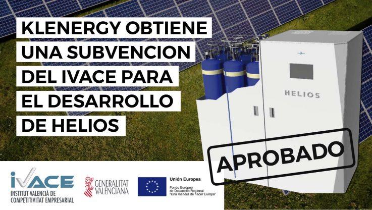 <p>¡Hoy, estamos encantados de anunciar una noticias muy emocionante! Un reconocimiento más por las innovaciones de Klenergy en el sector de la energía. Esta vez, el reconocimiento vino gracias a nuestro primer amor y pasión: ¡Klenergy HELIOS! El Instituto Valenciano de Competitividad Empresarial tiene entre sus objetivos la planificación energética de la Comunidad Valenciana, de [&hellip;]</p>