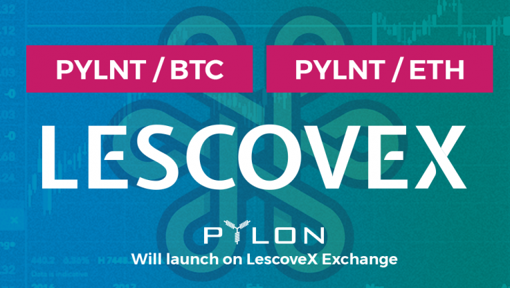 <p>We are delighted to have just confirmed the addition of PYLNT on Les Covex exchange! This is the second exchange that PYLNT will be listed, coming at a good timing in regards to the development of the project. Lescovex is a platform for the exchange and creation of digital assets. A tool that, through Ethereum's […]</p>