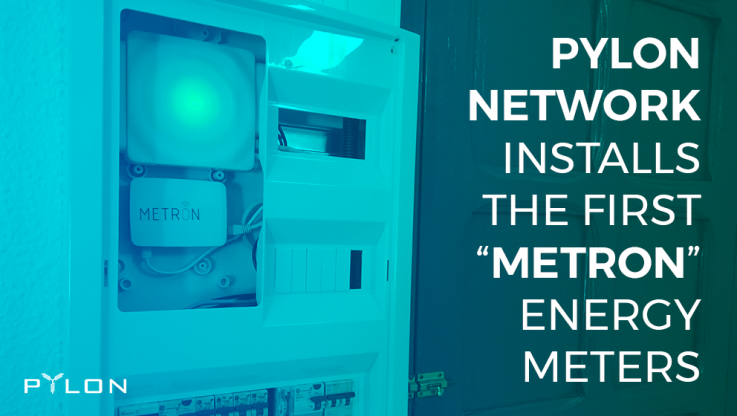 <p>Pylon Network, the open-source P2P blockchain trading platform designed to trace and pay for energy exchanges between users participating in this decentralized network, begins the installation of its smart metering devices called &#8220;Metron&#8221;, which will acquire energy consumption data in real time. The first participants in the simulation of the platform are members of the [&hellip;]</p>