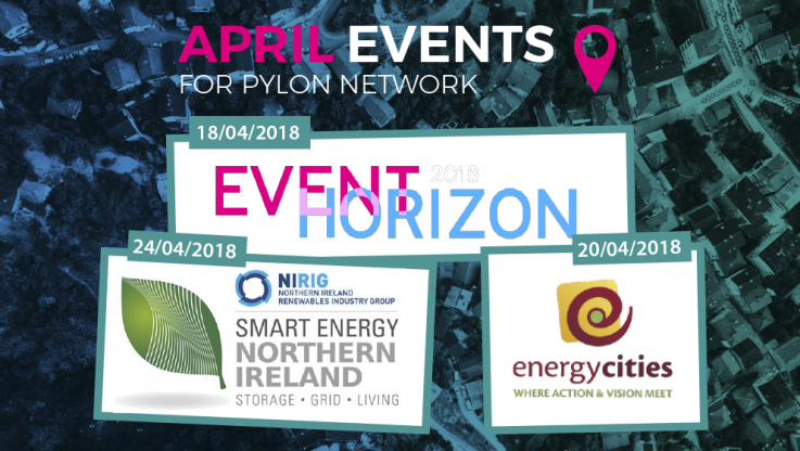 <p>The month of April is full of events, and the Pylon Network team is ready to face each one of them. These are conferences and events of great importance coming up this month and Pylon Network will be there covering a range of topics: blockchain, energy, citizen cooperation and innovation. It will undoubtedly be a […]</p>