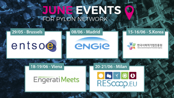 <p>May is almost gone and it has been a full and intensive month. So, nothing new there! However, June is around the corner and Pylon Network is on the road again, participating in some really exciting events. Have a look! May was a month of hard work, cooperation and planning for Pylon Network and the [&hellip;]</p>