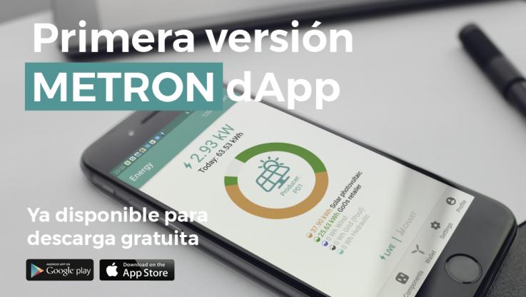 <p>¡Encantados de anunciar el lanzamiento de nuestra aplicación distribuida METRON (dApp) para dispositivos Android e iOS! Después de meses de desarrollo por nuestro incansable equipo, la primera versión de METRON dApp está lista y es gratuita para que cualquiera la descargue. &nbsp; ¡Estamos muy felices por el logro! No solo porque significa la finalización de [&hellip;]</p>
