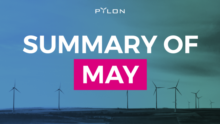<p>May is over and in this post we are looking back to what we achieved, on a very busy month in terms of the project development. During May we also run our &#8220;Energy Wednesdays&#8221; informative segments, where we focused on various aspects of the energy markets, which we think are important insights regarding the operation [&hellip;]</p>