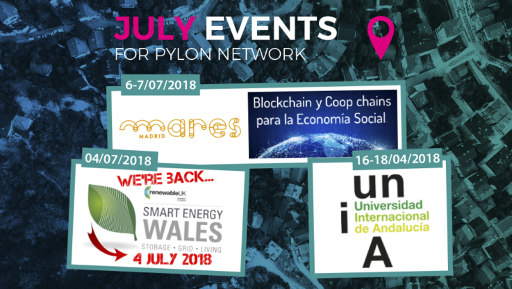 <p>June was a month full of events for the team of Pylon Network, during which, we were able once again to present Pylon Network, meet a number of important actors in the energy sector and exchange our views about how the future of our energy systems will look like. The project was presented to a […]</p>
