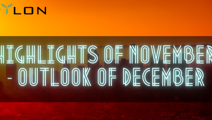 <p>While the end of this peculiar year (to say the least) is fast approaching, the Pylon team is ramping up the engines for a rewarding and impactful closure. The following lines offer a summary of the past month and an outlook of the last 30 days of the year. Enjoy! Highlights of November 2020 November […]</p>